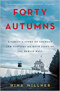 book cover                         Forty Autumns