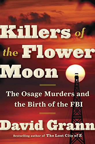 book                             cover Killers of the Flower Moon