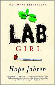 book cover                             Lab Girl